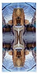 Reflections In Frederick, Maryland Hand Towel