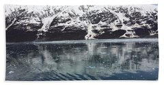 Reflections In Icy Point Alaska Hand Towel