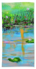 Reflections In Spring Hand Towel