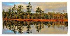 Reflections - Lake Landscape Hand Towel