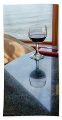 Reflections Lake Superior.... Hand Towel