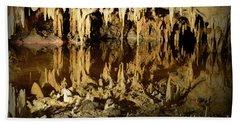 Reflections Of Dream Lake At Luray Caverns Hand Towel by Paul Ward