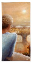 Reflections Of Florence Hand Towel