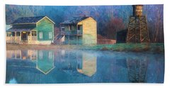 Reflections Of Hope - Hope Valley Art Bath Towel by Jordan Blackstone