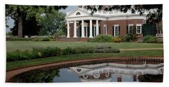 Reflections Of Monticello Bath Towel