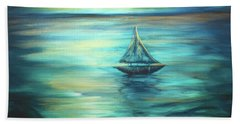 Reflections Of Peace Hand Towel