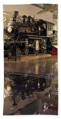 Reflections Of Steam Hand Towel