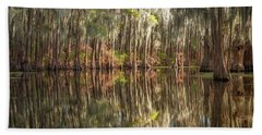 Reflections On The Bayou Hand Towel