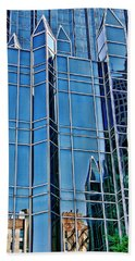 Hand Towel featuring the photograph Reflections by Rhonda McDougall