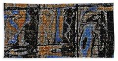 Reflections  Bath Towel by Tom Janca