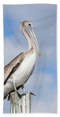 Regal Bird Hand Towel