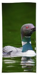 Regal Loon Hand Towel