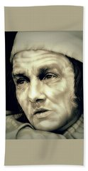 Regret Scrooge Hand Towel by Fred Larucci