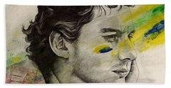 Rei Do Brasil - Tribute To Ayrton Senna Da Silva Hand Towel