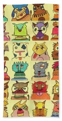 Reigning Cats And Dogs  Hand Towel