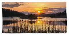 Rejoicing Easter Morning Skies Bath Towel