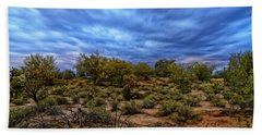 Hand Towel featuring the photograph Rejuvenation Op19 by Mark Myhaver