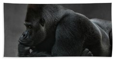 Relaxed Silverback Hand Towel