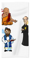 Religious Icons Hand Towel