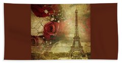 Remembering Paris Hand Towel
