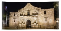 Remembering The Alamo Hand Towel