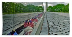Remembrance Of Patriotism Bath Towel