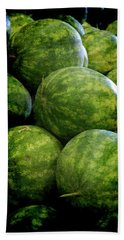 Renaissance Green Watermelon Hand Towel