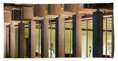 Renzo Piano Building Kimball Museum Bath Towel