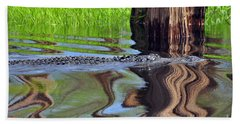 Hand Towel featuring the photograph Reptile Ripples by Al Powell Photography USA