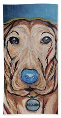 Rescued Hand Towel by Victoria Lakes