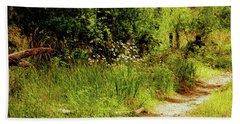 Bath Towel featuring the photograph Reserve Near Bibra Lake by Cassandra Buckley