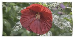 Resilient Hibiscus Bath Towel