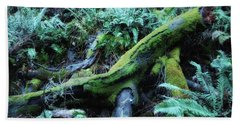 Resting Comfortably Hand Towel by Donna Blackhall