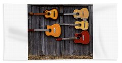 Retired Guitars  Hand Towel