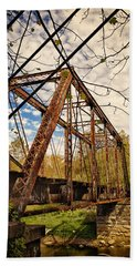 Retired Trestle Bath Towel by John M Bailey