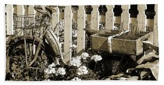 Hand Towel featuring the photograph Retirement by Betsy Zimmerli