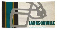 Retro Jaguars Art Hand Towel