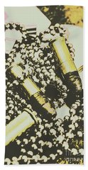 Retro Military Poster Art Hand Towel