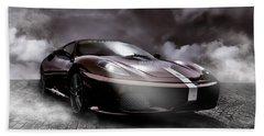 Retro Sports Car - Formule 1 Bath Towel
