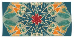 Bath Towel featuring the photograph Retro Surfboard Woodcut by Mary Machare