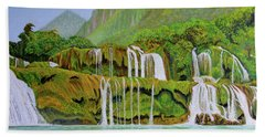 Returned To Paradise Bath Towel by Thu Nguyen