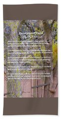 Reverence Of Trees Hand Towel