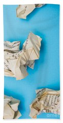 Rewriting The Pages Of History Bath Towel