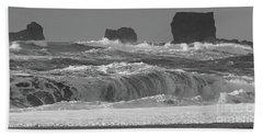 Reynisfjara Beach Vik Iceland 6845 Hand Towel