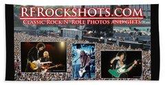 Rfrockshots Classic Rock N Bath Towel