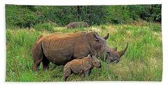 Rhinoceros Hand Towel
