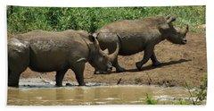 Rhinos Hand Towel