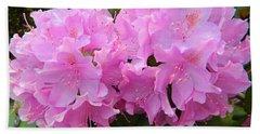 Rhododendron Beauty1 Bath Towel