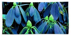 Rhododendron Buds In Spring Bath Towel