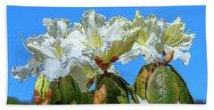 Rhododendron Ciliicalyx Dthn0213 Bath Towel